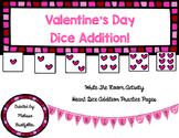Valentine's Dice Addition