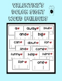 Valentine's Dolch Sight Word Builders (Dry erase)