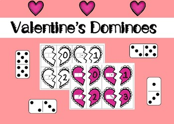 Valentine's Dominoes Counting