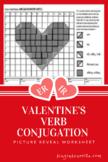 Valentine's ER/IR Verbs Picture Reveal