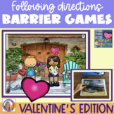 Valentine's Edition: Following Directions with Barrier Games