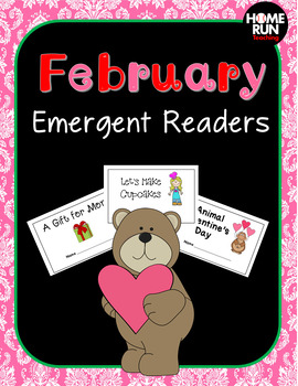 February/Valentine's Emergent Readers