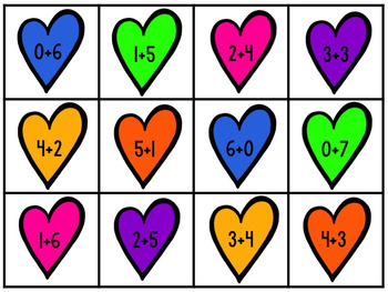 February / Valentine's Day Math Centers
