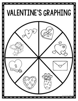 Valentine's/February Spinner Graphing