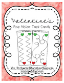 Valentine's Fine Motor Task Cards