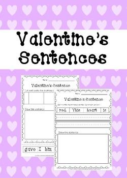 Valentine's Fix the Sentence