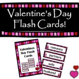 Valentine's Flash Cards