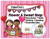 Valentine's Flower & Sweet Shop Activity Pack