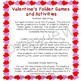Valentine's Folder Games and Activities
