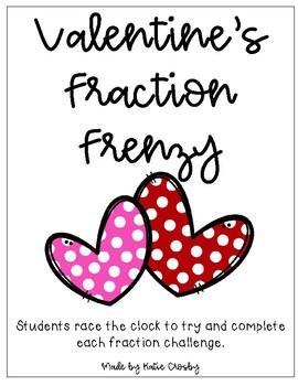 Valentine's Fraction Frenzy!