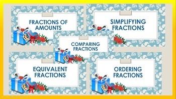 Math Fractions NO PRE Activities Printable Editable