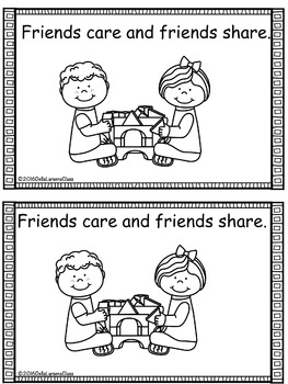 Valentine's Friendship Book
