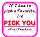 Valentine's From Teacher (EDITABLE)