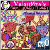 Valentine's Game Boards Clipart