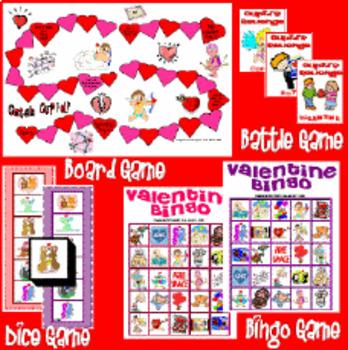 Valentine's Game Set