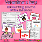Valentine's Handwriting Scoot and/or Write the Room