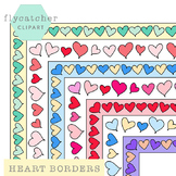 Valentine's Heart Borders Assortment
