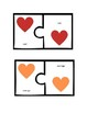 Valentine's Heart Color Matching Game (white background)