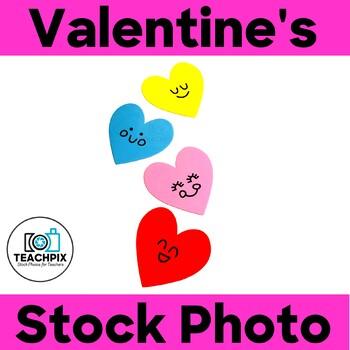 Valentine's Day Hearts Stock Photo