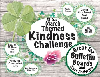 March Themed 31 Day Kindness Challenge