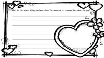 Valentine's Irregular Verb Writing Freebie!