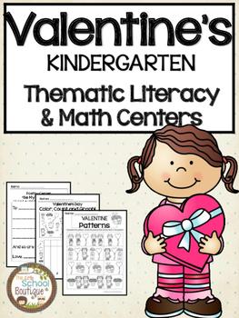 Valentine's Day Kindergarten Activities