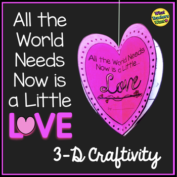 Valentine's Kindness Craftivity