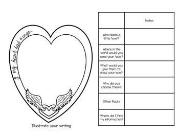 Valentine's Kindness Craftivity