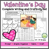 Kindhearted Valentine's Day Writing and Craftivity Set