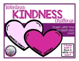 Valentine's Kindness Challenge and Writing Paper