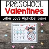 Valentine's Letter Recognition Game- Letter Love- Literacy Center
