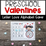 Valentine's Letter Recognition Game- Letter Love- Literacy Center