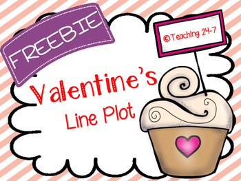 Valentine's Line Plot (FREEBIE)