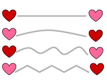Valentine's Line Tracing