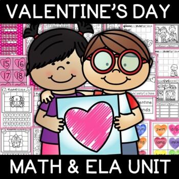 Valentine's Literacy and Math Unit