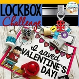 Valentine's Lockbox Challenge- Save Valentine's Day!, Problem Solving Activity