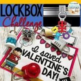Valentine's Day Activity|Lockbox Challenge|Valentine Logic Puzzle|Enrichment