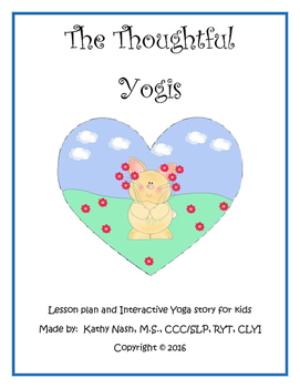 Valentine's Loving Yoga Lesson Plan and Interactive Story