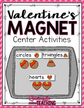 Valentine's Magnet Center Activities