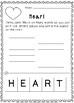Valentine's Making Words