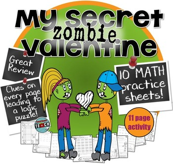 4th or 5th grade Valentine's Day Math Activities - Review & Fun