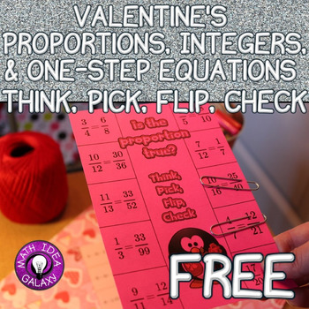 Valentine's Math Freebie