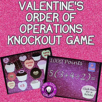 Valentine's Order of Operations Game