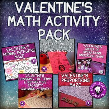Valentine's Day Math Activity Pack