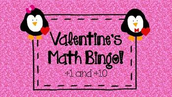 Valentine's Math Bingo