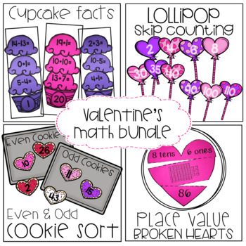 Valentine's Math Stations