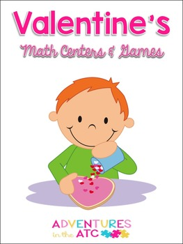 Valentine's Math Centers and Games