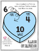 Valentine's Math: Decomposing Numbers - Number Bonds