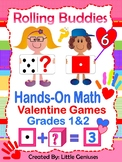 Valentine's Math Games For Grades 1 and 2