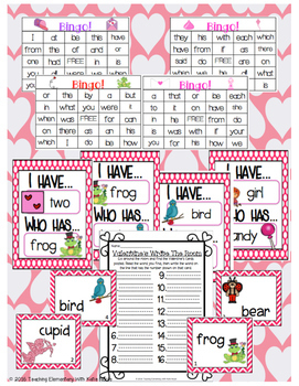 Valentine's Math & Literacy Activities for First Grade!